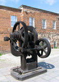 Old forging press Stock Image