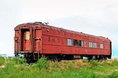 Old forgotten railcar Stock Photography