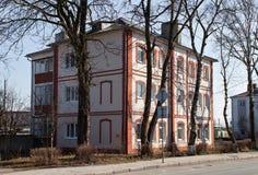 Old former german house in Zelenogradsk Cranz. Stock Photography