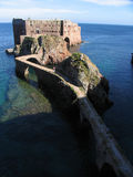 Old fort. In the island of Berlenga, Portugal Royalty Free Stock Photos
