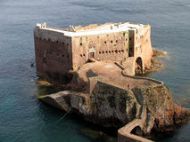 Old fort. In the island of Berlenga, Portugal Royalty Free Stock Photography
