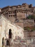 Old Fort. India - Radjasthan - Jodhpur Royalty Free Stock Photography