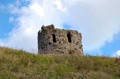 Old  fort. Old fort on top of a hill Royalty Free Stock Image
