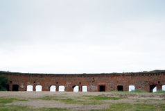 Old fort in Baltiysk Stock Image