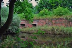 Old fort in Baltiysk Stock Photos