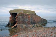 Old fort in Baltiysk Stock Photography