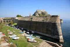 Old fort in corfu Royalty Free Stock Photos