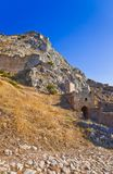 Old fort in Corinth, Greece Stock Photo