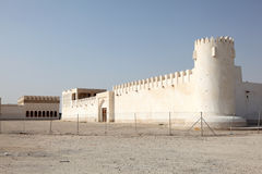 Old fort in Doha, Qatar. Middle East Royalty Free Stock Photos