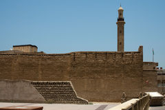 Old fort in Dubai royalty free stock photos