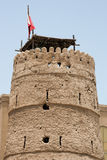 Old fort in Dubai royalty free stock photo