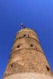 Old fort in dubai, united arab emirates Stock Photos