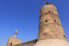 Old fort in dubai, united arab emirates Royalty Free Stock Photos