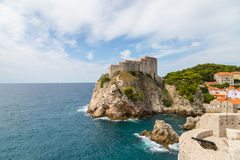 Old Fort in Dubrovnik Stock Photo