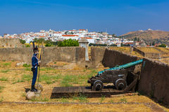 Old fort - Elvas Portugal. Old fort in Elvas - Portugal Royalty Free Stock Photography