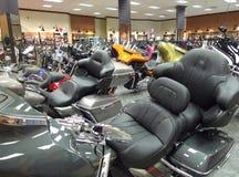 Old Fort Harley Davidson Retail Store Bikes Stock Photos
