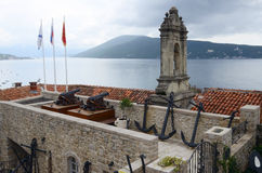 Old fort in Herceg Novi, Montenegro Royalty Free Stock Photography