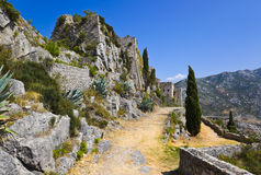 Old fort in Klis, Croatia Stock Photography