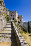 Old fort in Klis, Croatia Royalty Free Stock Image