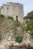 OLD-FORT LOVRIJENAC IN DUBROVNIK Royalty Free Stock Image