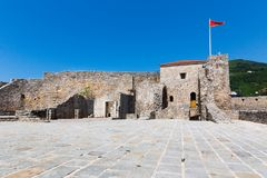 Old fort in Montenegro Royalty Free Stock Photography