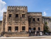 Old Fort (Ngome Kongwe) in Stone Town, Zanzibar Royalty Free Stock Image