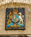 Old Fort Niagara coat of arms Stock Image