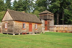 Old Fort Nisqually Royalty Free Stock Photography