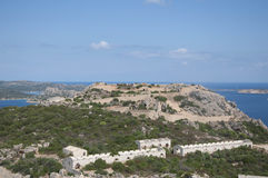 Old fort nord sardinia Stock Photos