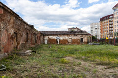 Old Fort of Omsk Stock Photo