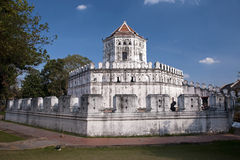 Old Fort Phra Sumeru in Bangkok Stock Photos