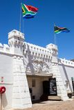 Old Fort prison in Johannesburg stock photography