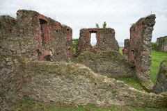 Old fort remains in Portobelo Panama Stock Photos
