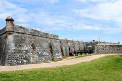 Old fort, Saint Augustine, FL Stock Image