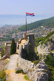Old fort in Split, Croatia Royalty Free Stock Images