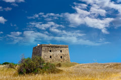 Old fort on Tabarca island Royalty Free Stock Image
