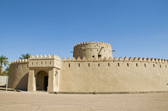 An old fort, UAE stock image