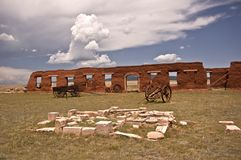 Old Fort Union Stock Photo