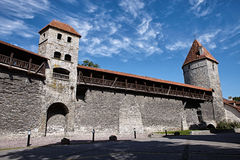 Old fortification towers Stock Images