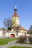Old fortified Church in Cristian, Brasov,Romania Stock Photography