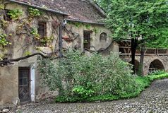 Old fortified church Stock Images