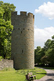 Old fortified tower Stock Images