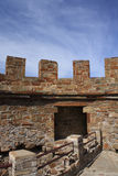 Old fortress. Walls and stairs Royalty Free Stock Photo