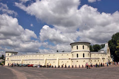 Old fortress. Old fortress  in Trostaneth.Ukraine Stock Photography