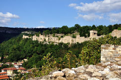 Old fortress. Old wall and watchtowers 2011 Royalty Free Stock Images