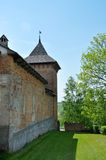 Old fortress. Ancient monastery to Vladimir-Volynsk Royalty Free Stock Image