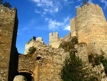 Old fortress. Medieval fortress in Golubac, Serbia Stock Image