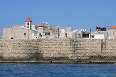 old fortress in Acre Stock Photo