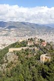 Old fortress of Alanya. Stock Photo