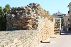 Old fortress in Alcudia, Mallorca Stock Images